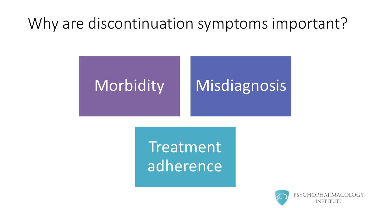 Antidepressant Discontinuation Syndrome: Diagnosis