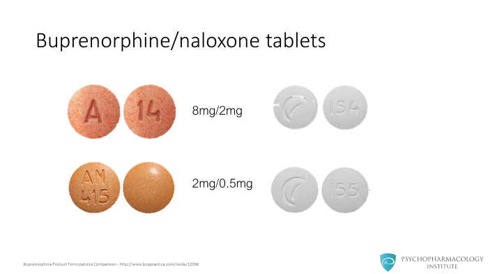 Buprenorphine Formulations: A Practical Summary for
