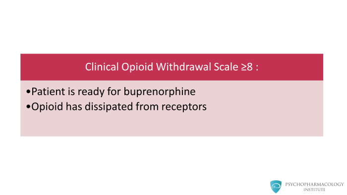 Buprenorphine for Opioid Use Disorder: Mechanism of Action