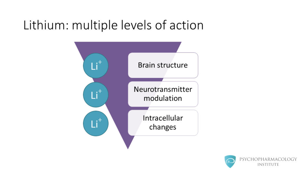Lithium's Mechanism of Action: An Illustrated Review