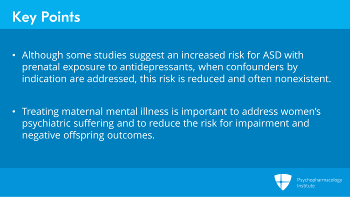 In Utero Exposure To Antidepressants >> Reviewing The Literature Ssris In Pregnancy And Association