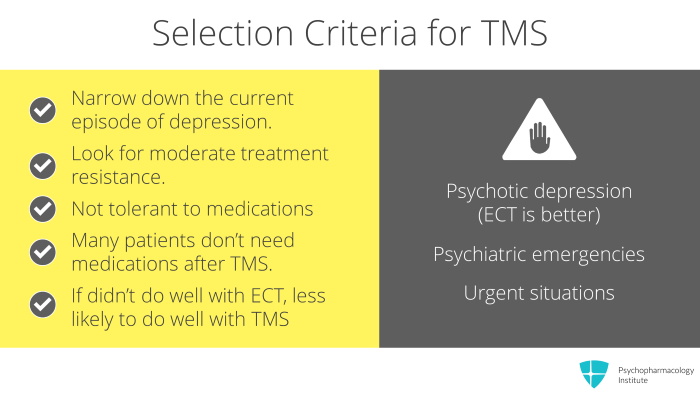 TMS Safety: Results from Clinical Trials